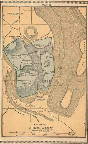 Jeruzalem bergen heuvels kaart.jpg