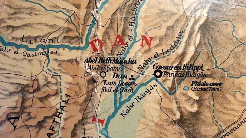 Dan wandkaart Palestina Böhl Meima1921.jpg