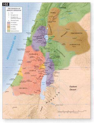 Verdeling van Herodes Koninkrijk - Access Foundation.jpg